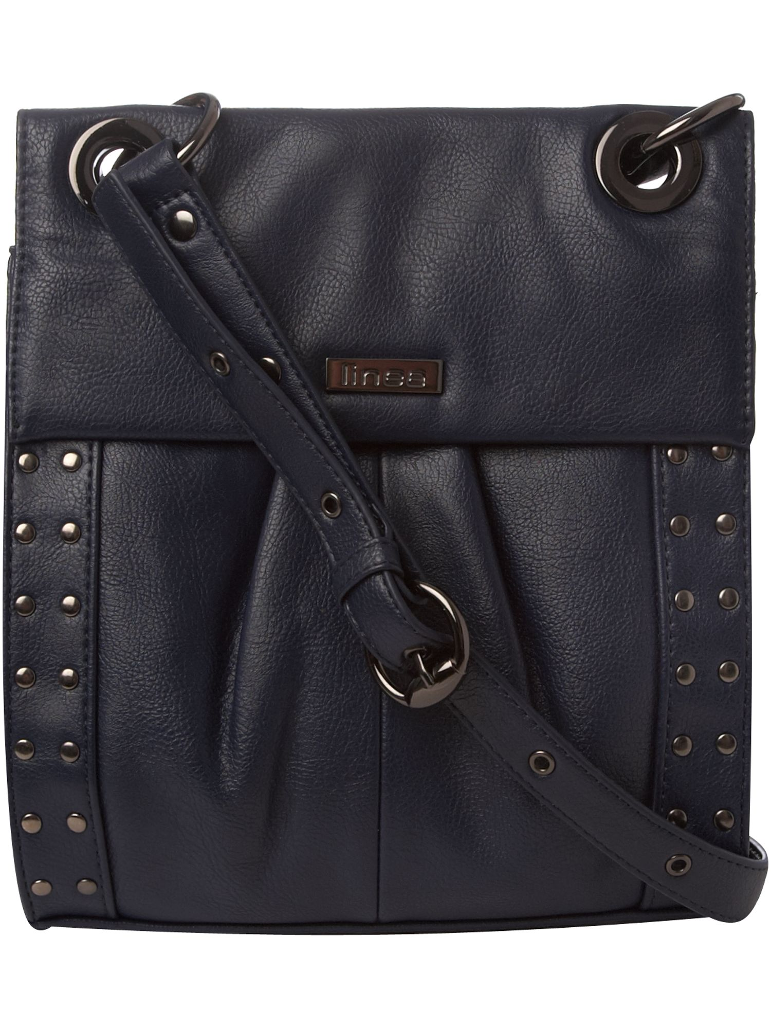 Linea Studded medium PU cross body bag product image