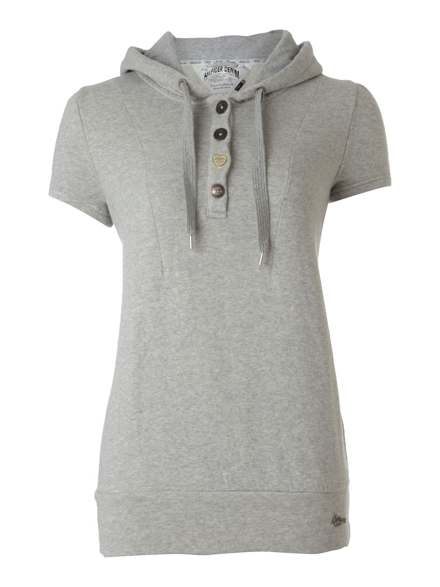Tommy Hilfiger Tory cotton t-shirt Grey product image