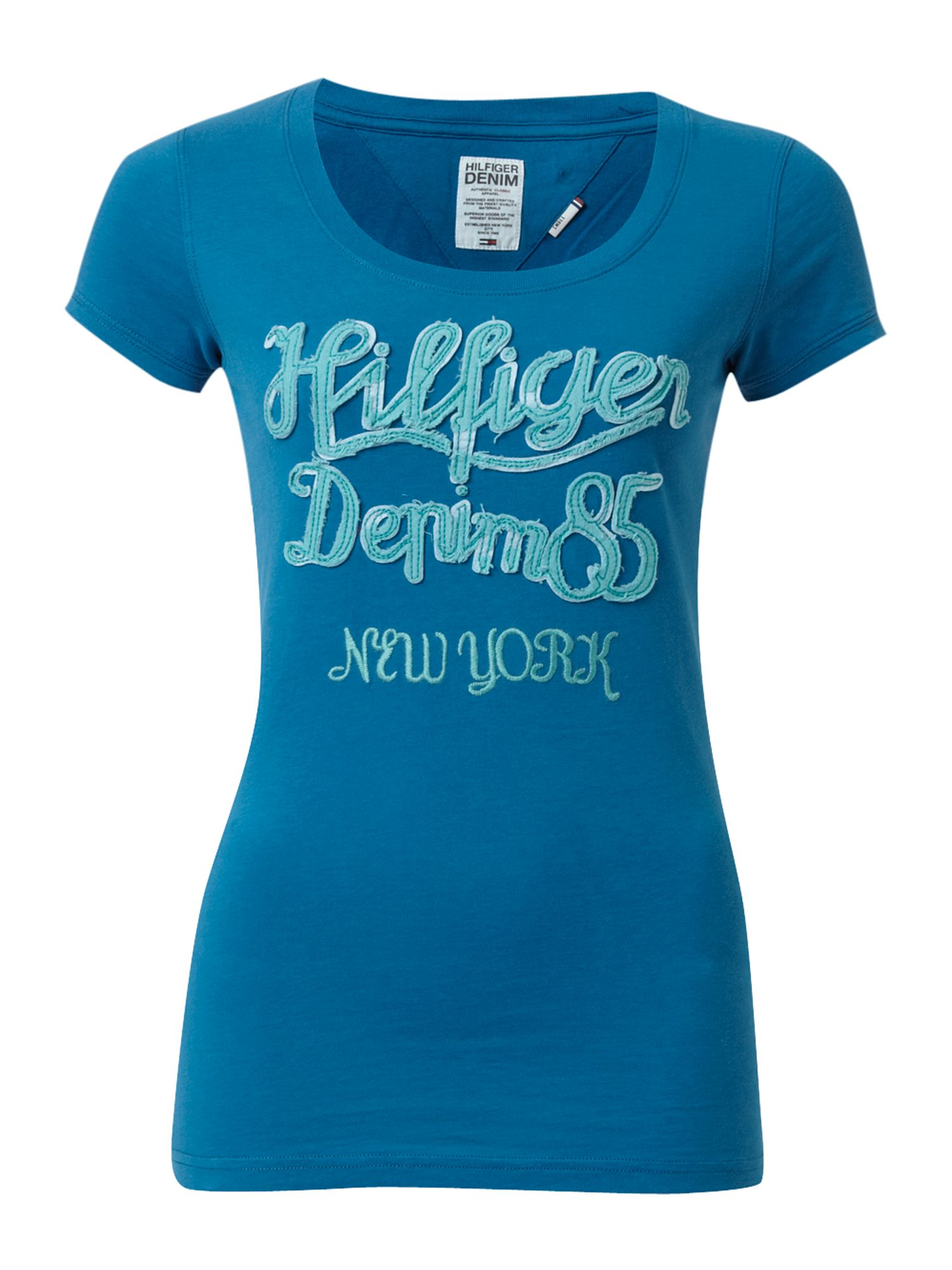 Tommy Hilfiger Lexie cotton t-shirt Blue product image