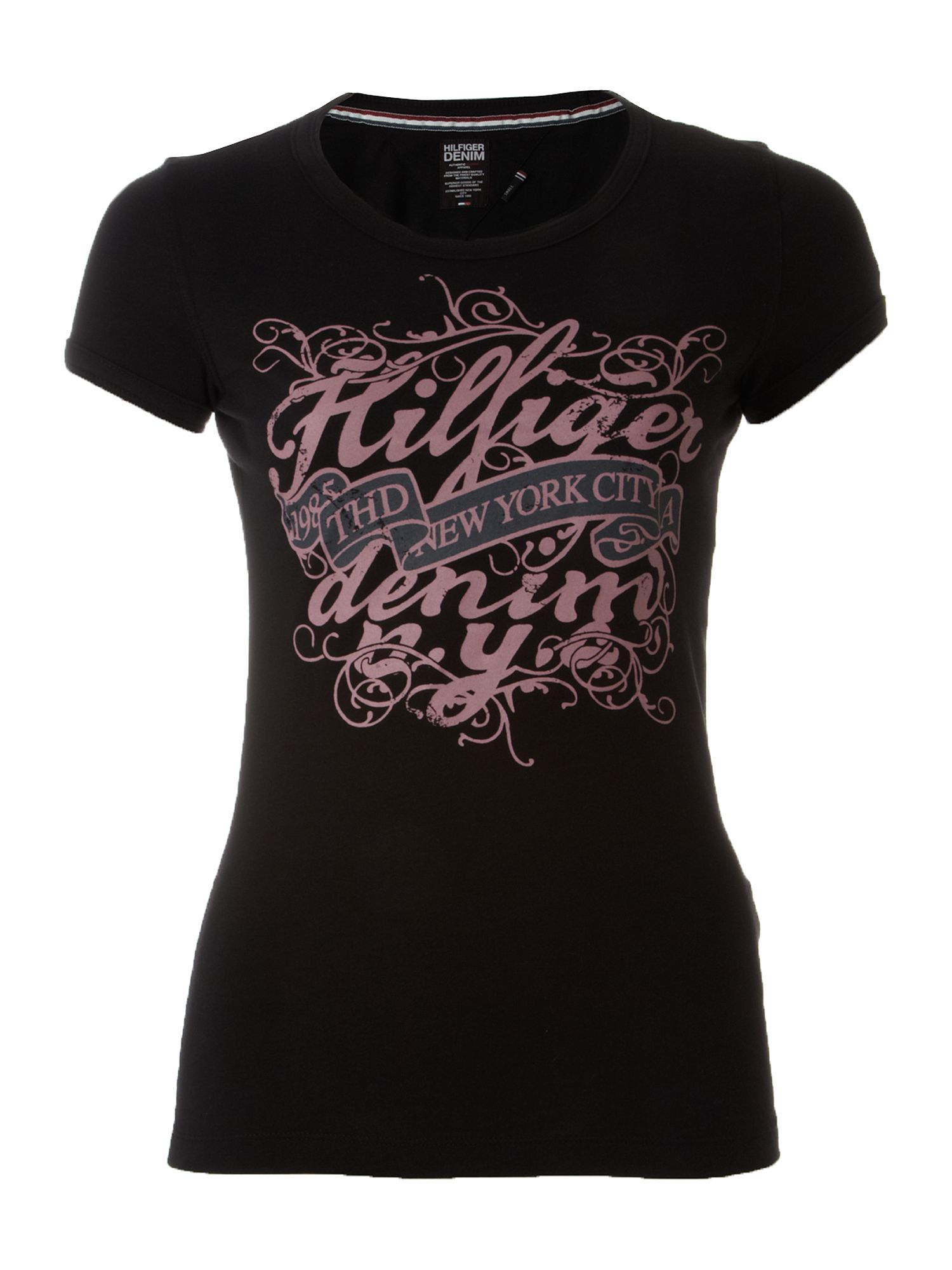 Tommy Hilfiger Lala cotton t-shirt Black product image