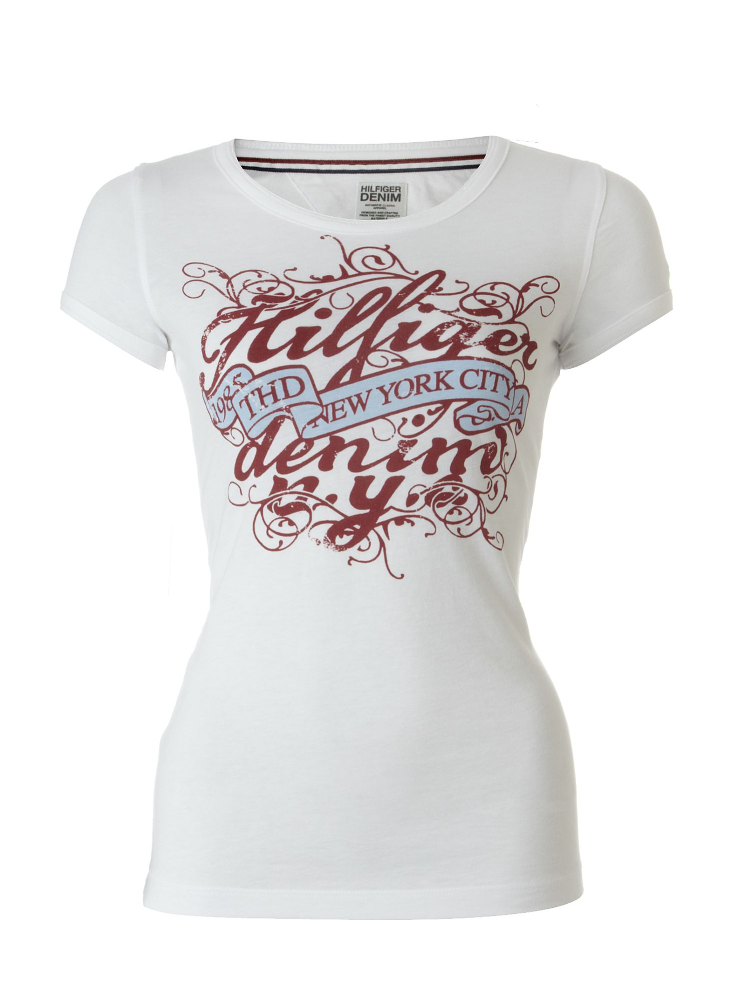 Tommy Hilfiger Lala cotton t-shirt White product image