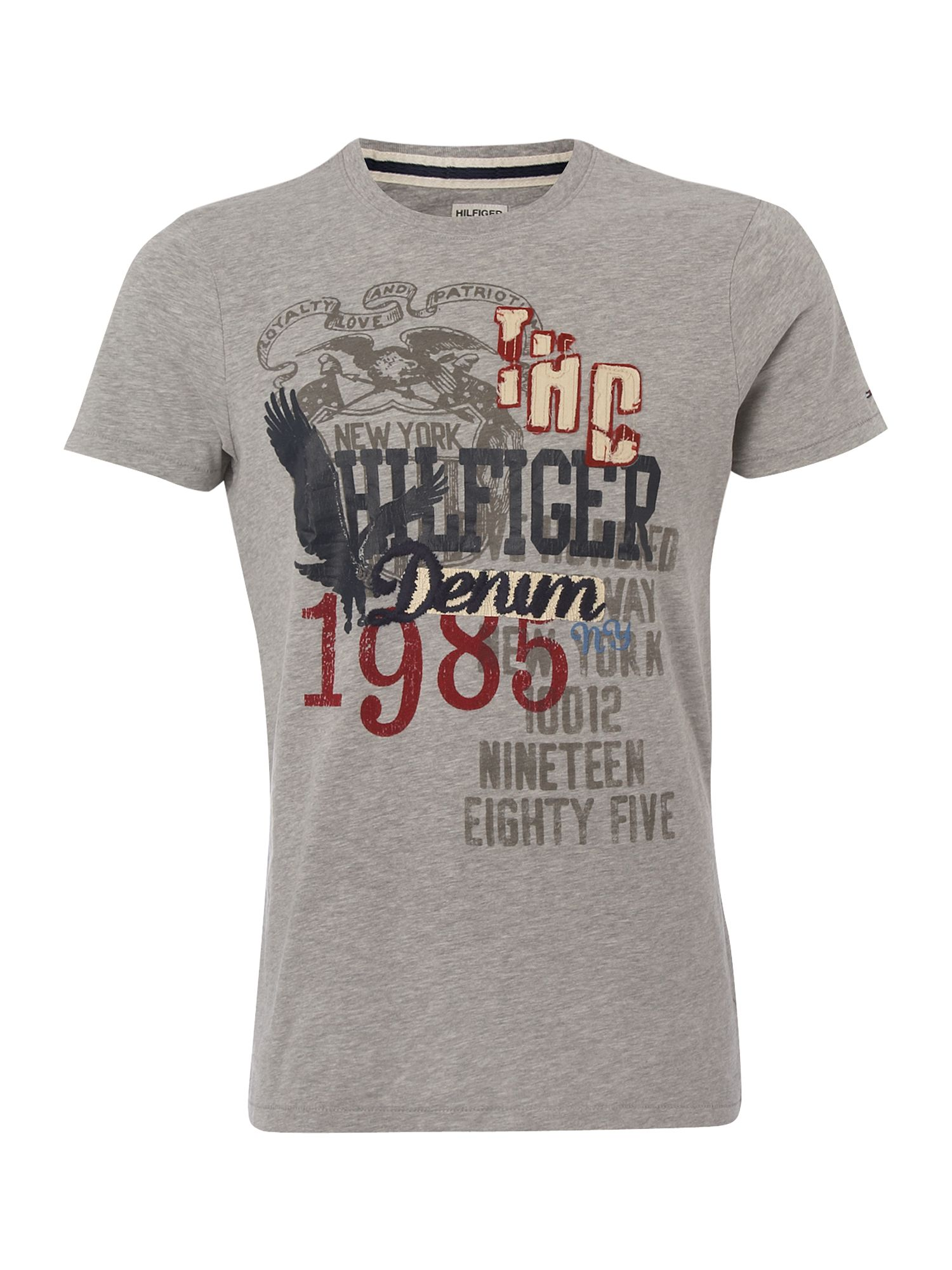 Tommy Hilfiger Eli cotton T-shirt Grey product image