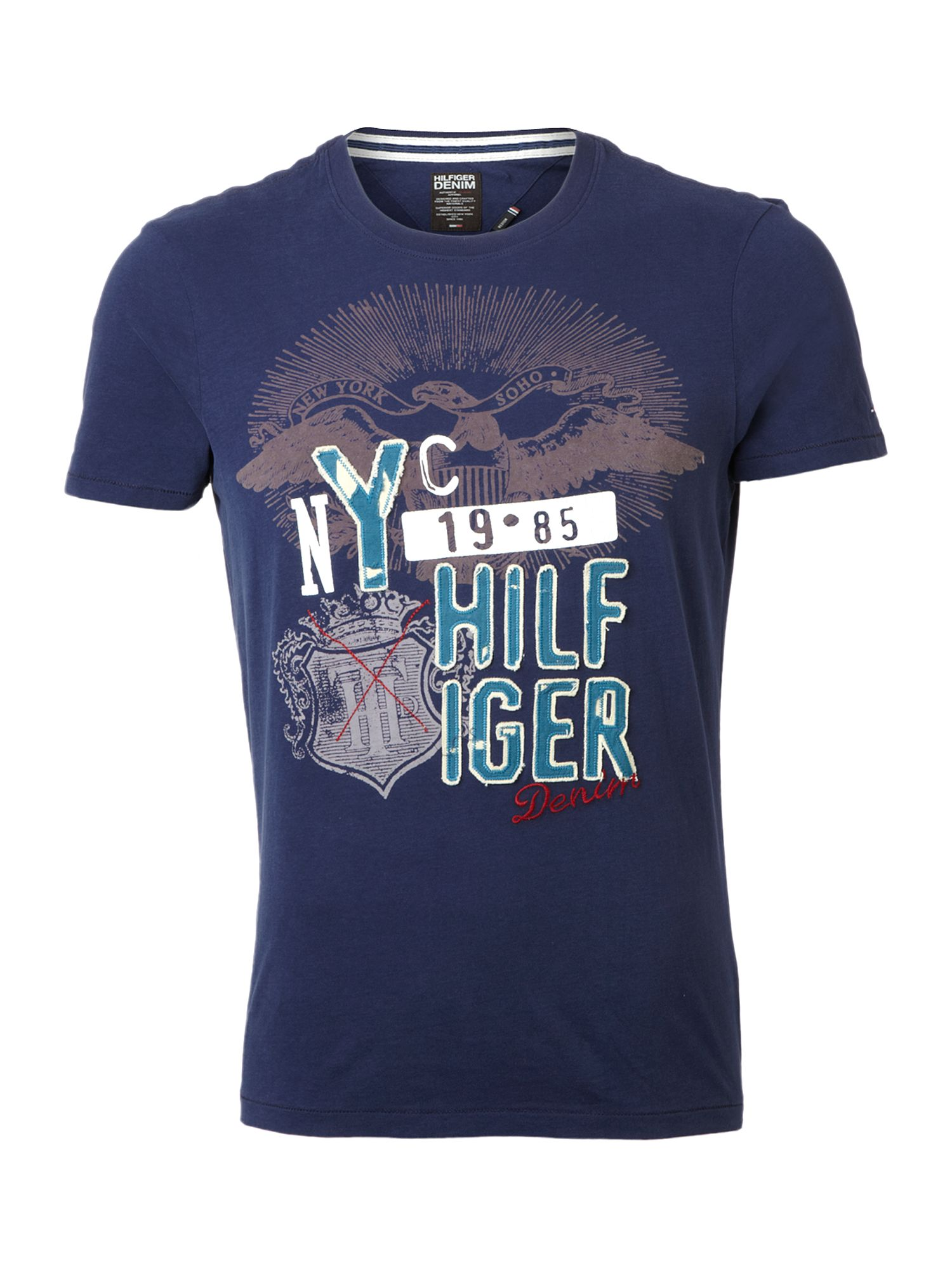 Tommy Hilfiger Eli cotton T-shirt Blue product image