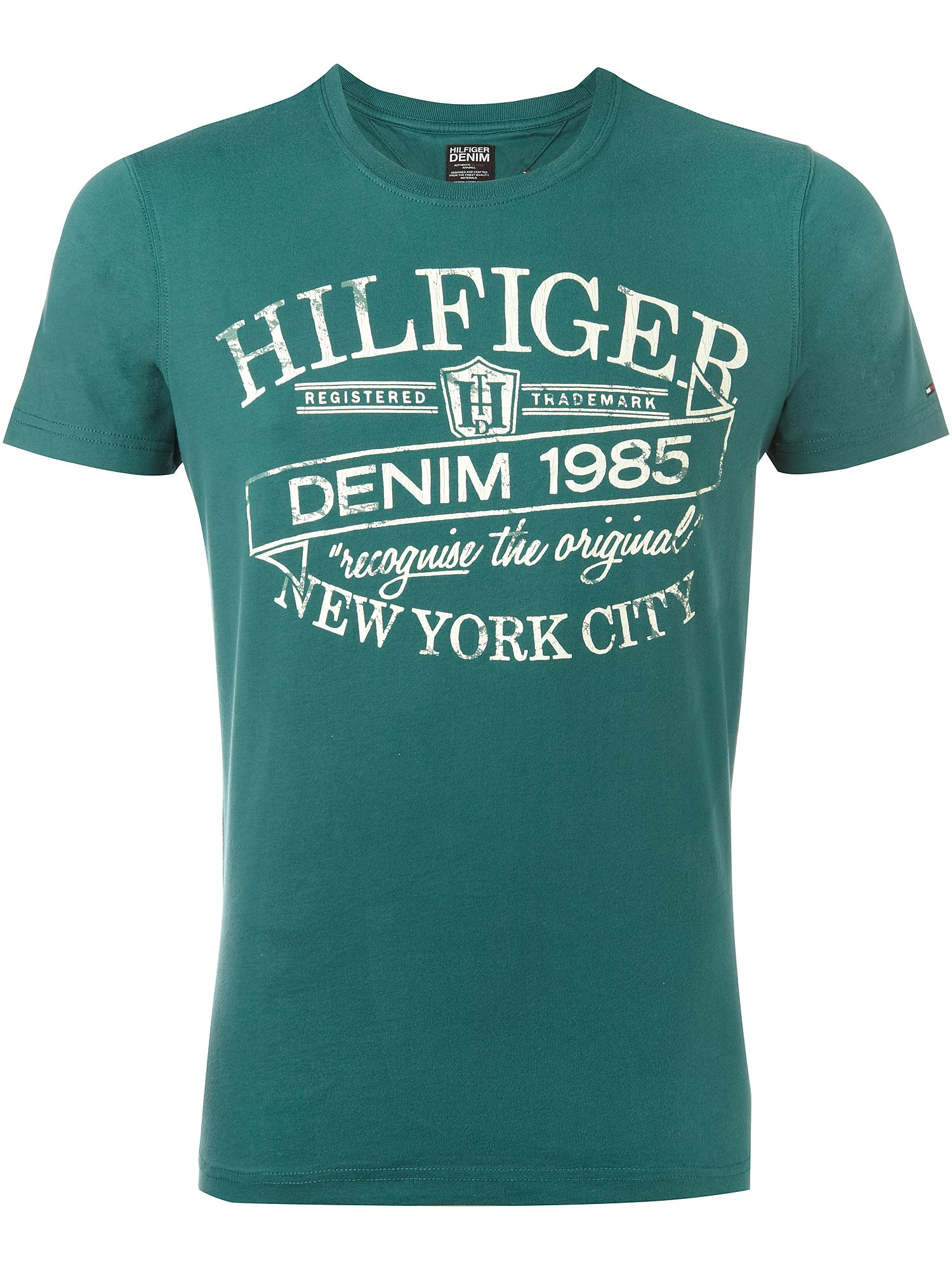 Tommy Hilfiger Federer Cotton T-shirt Purple product image