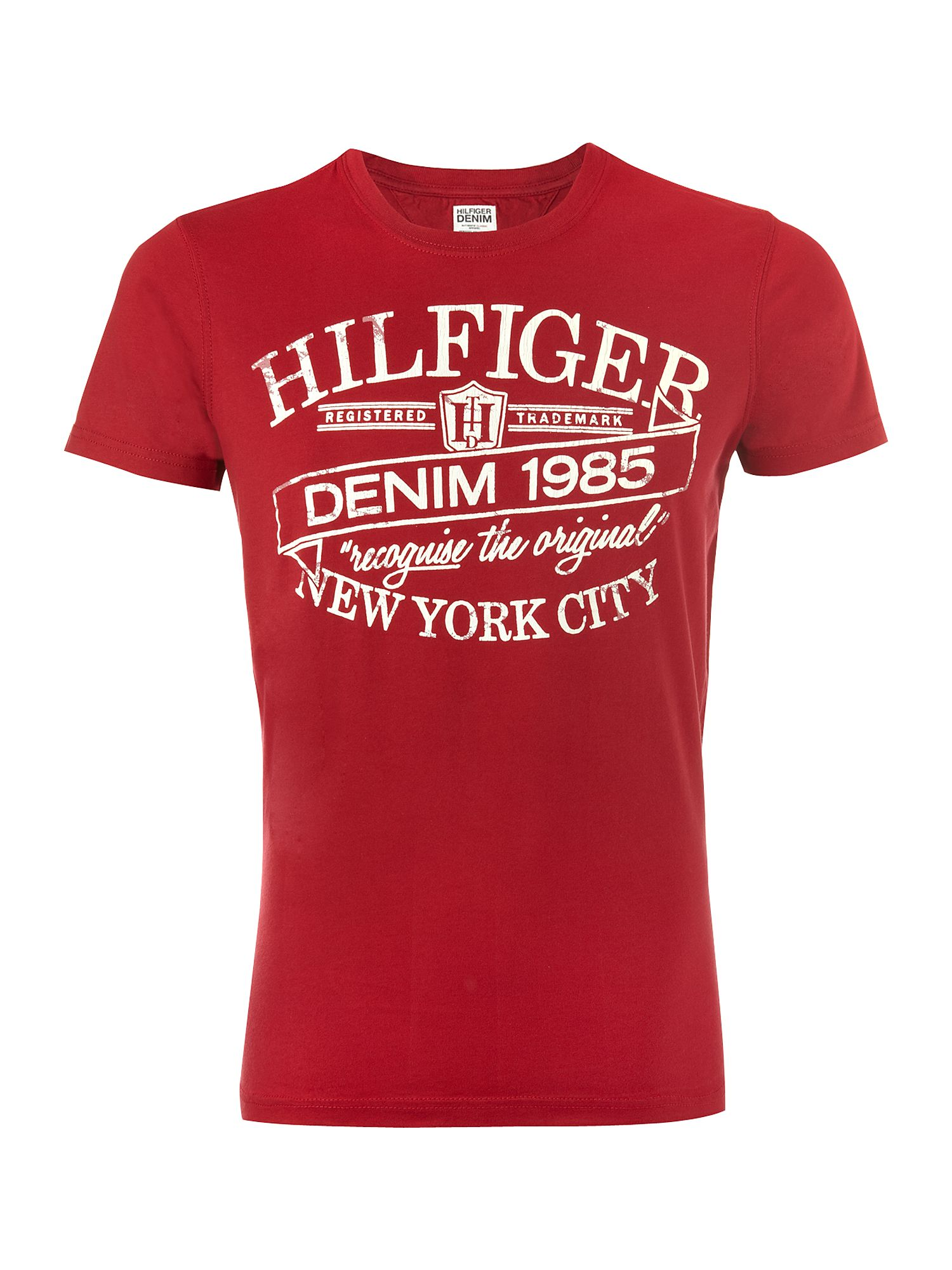 Tommy Hilfiger Federer Cotton T-shirt Red product image