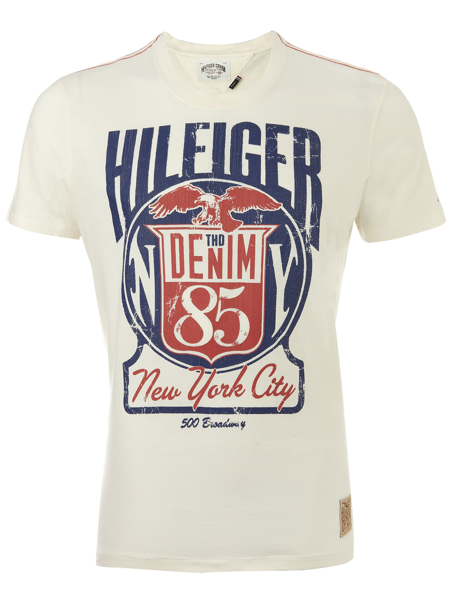 Tommy Hilfiger Ray crew neck T-shirt White product image