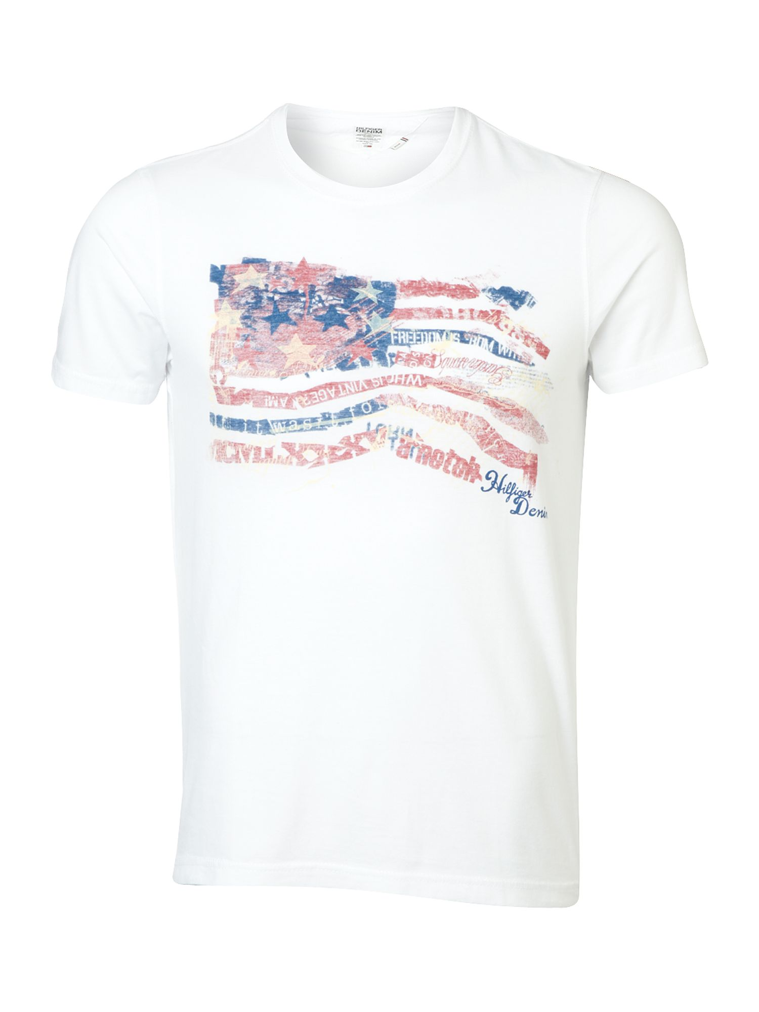 Tommy Hilfiger Frank cotton T-shirt White product image