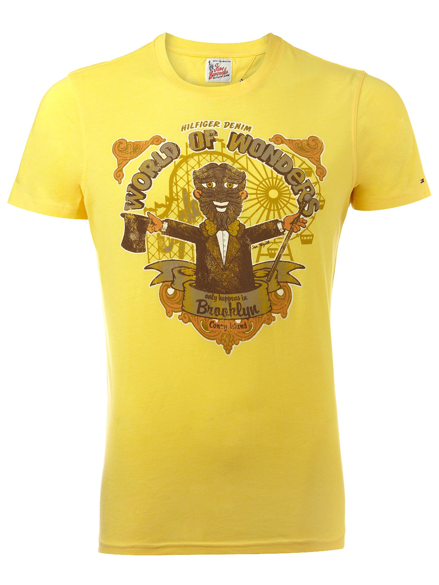 Tommy Hilfiger Brooklyn crew neck T-shirt Yellow product image