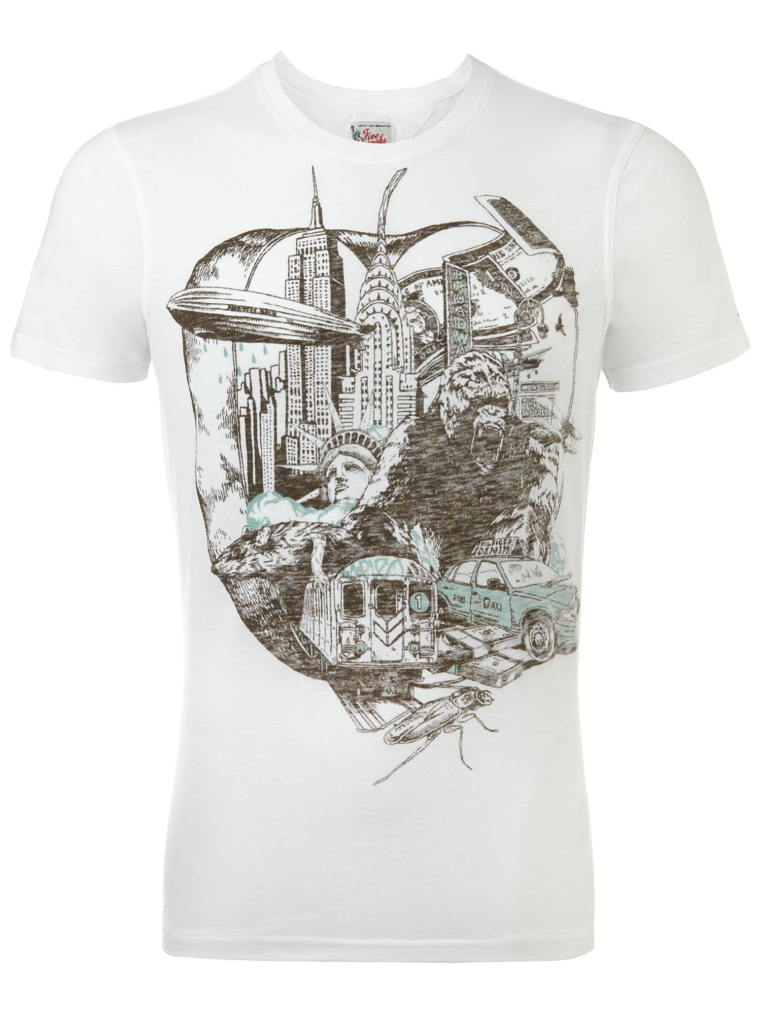 Tommy Hilfiger Manhattan crew neck T-shirt White product image