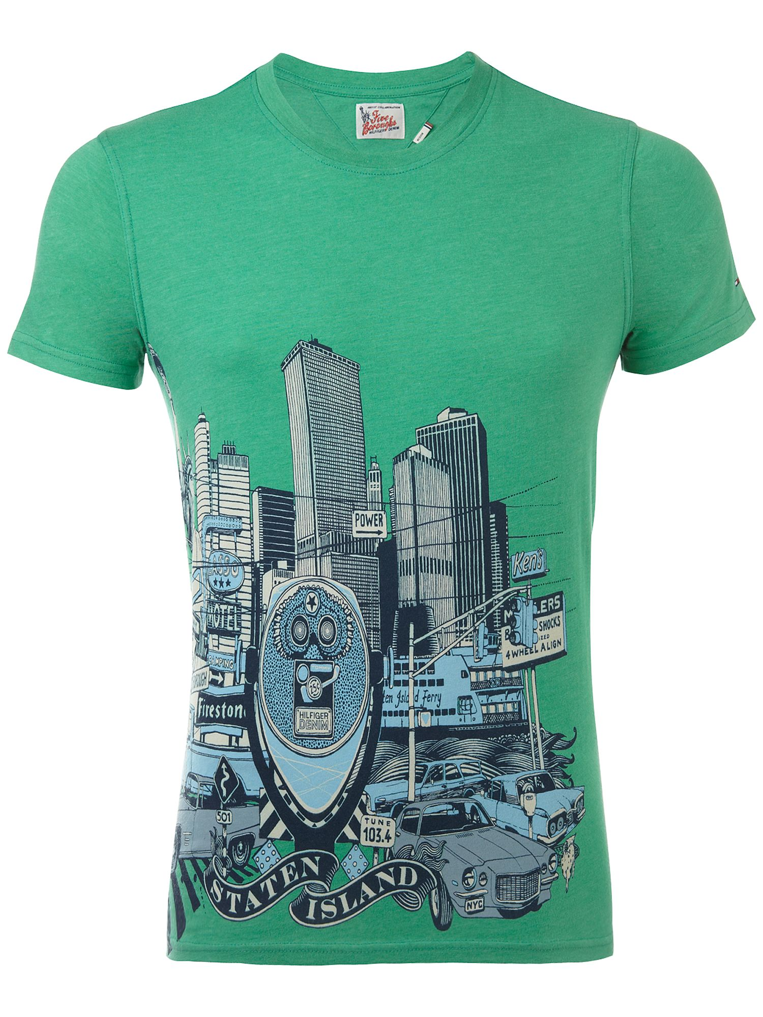 Tommy Hilfiger Staten crew neck T-shirt Green product image