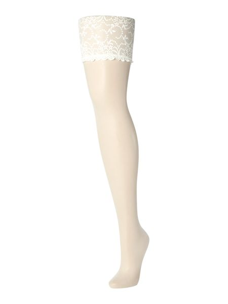 Charnos Bridal lace top stocking