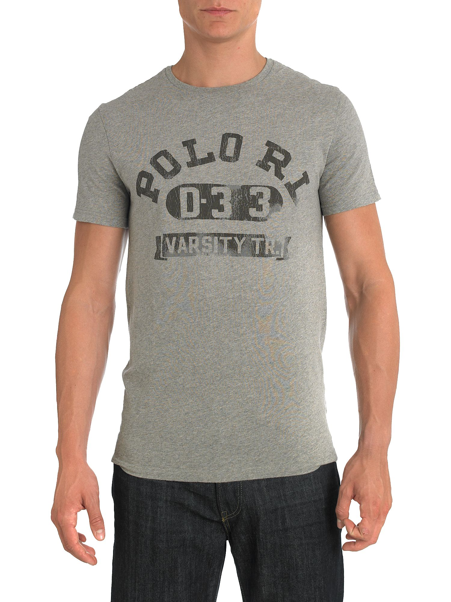Ralph Lauren Short leeve logo T-shirt Light Grey product image