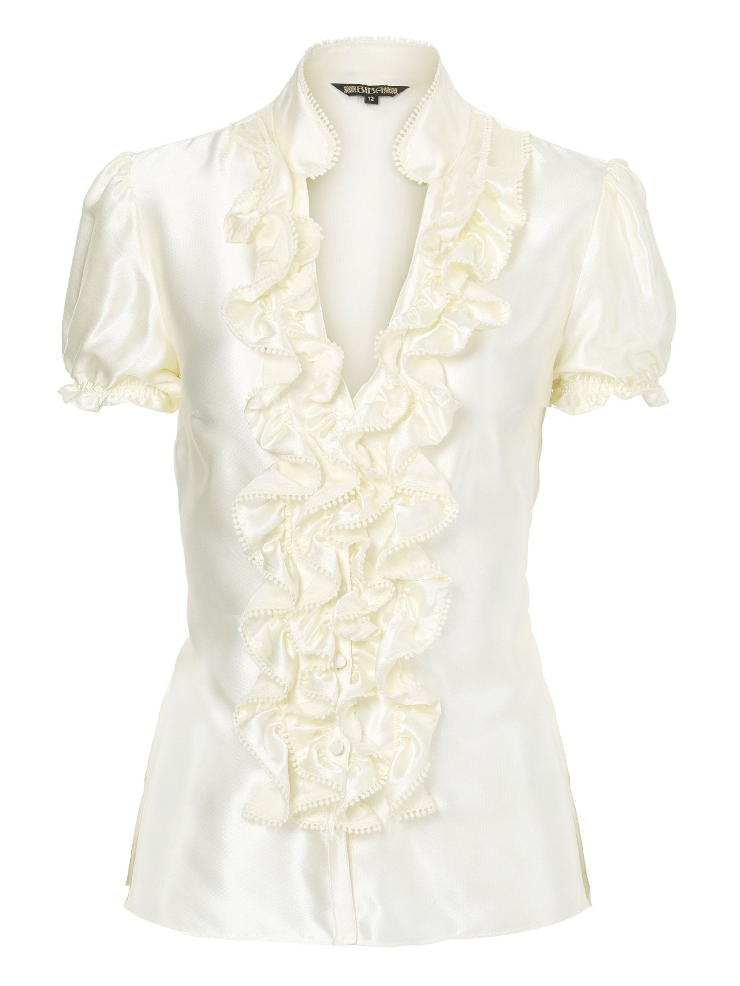 Phase Eight Charlotte Ruffle Blouse 12