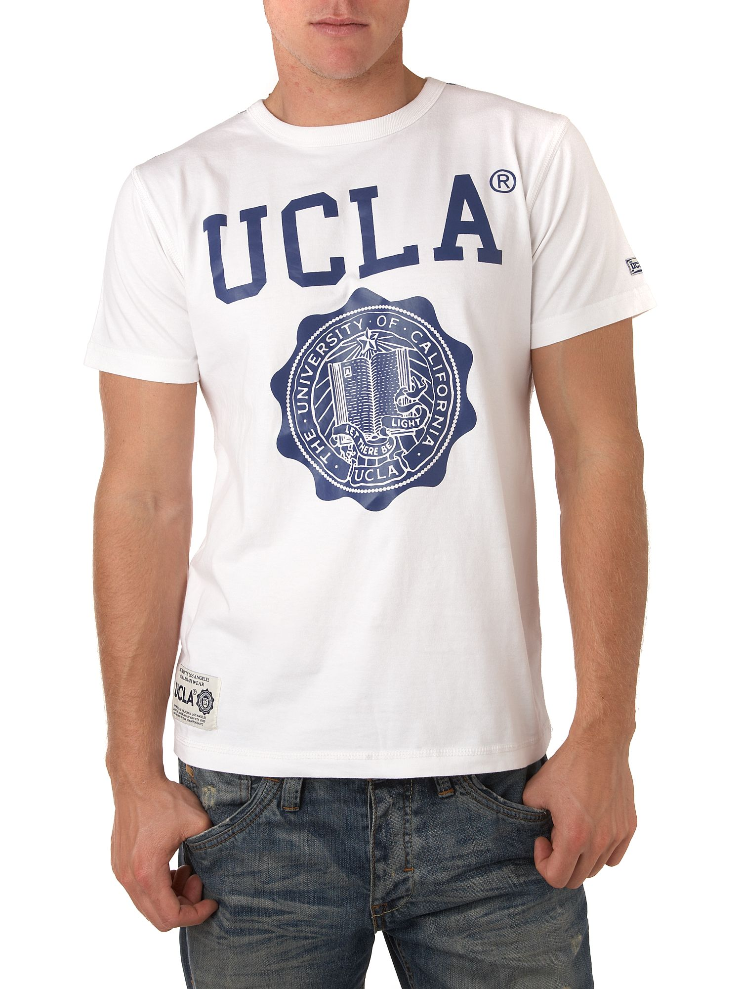 UCLA shield T-shirt White product image