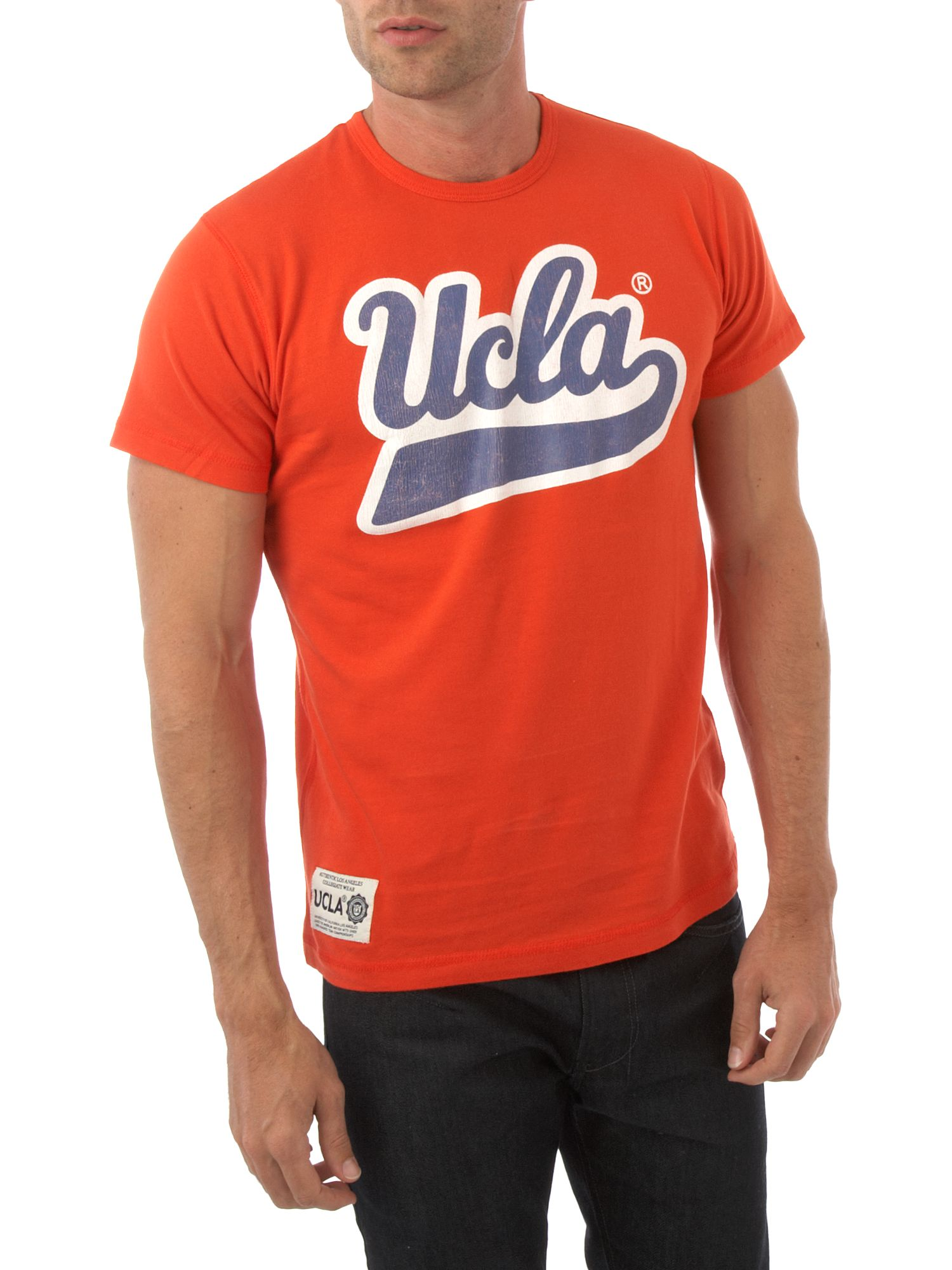UCLA Fat script T-shirt Red product image
