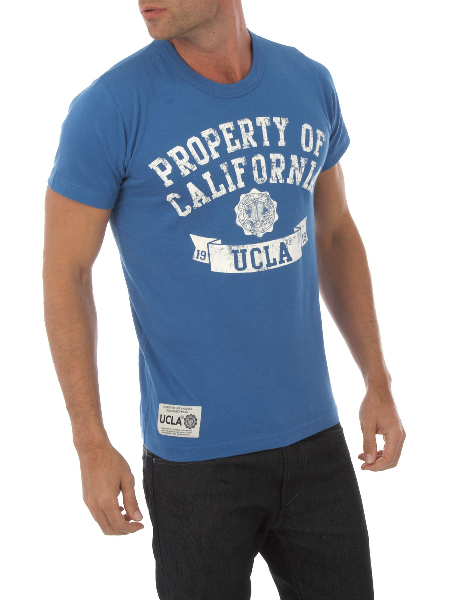 UCLA Property print T-shirt Blue product image