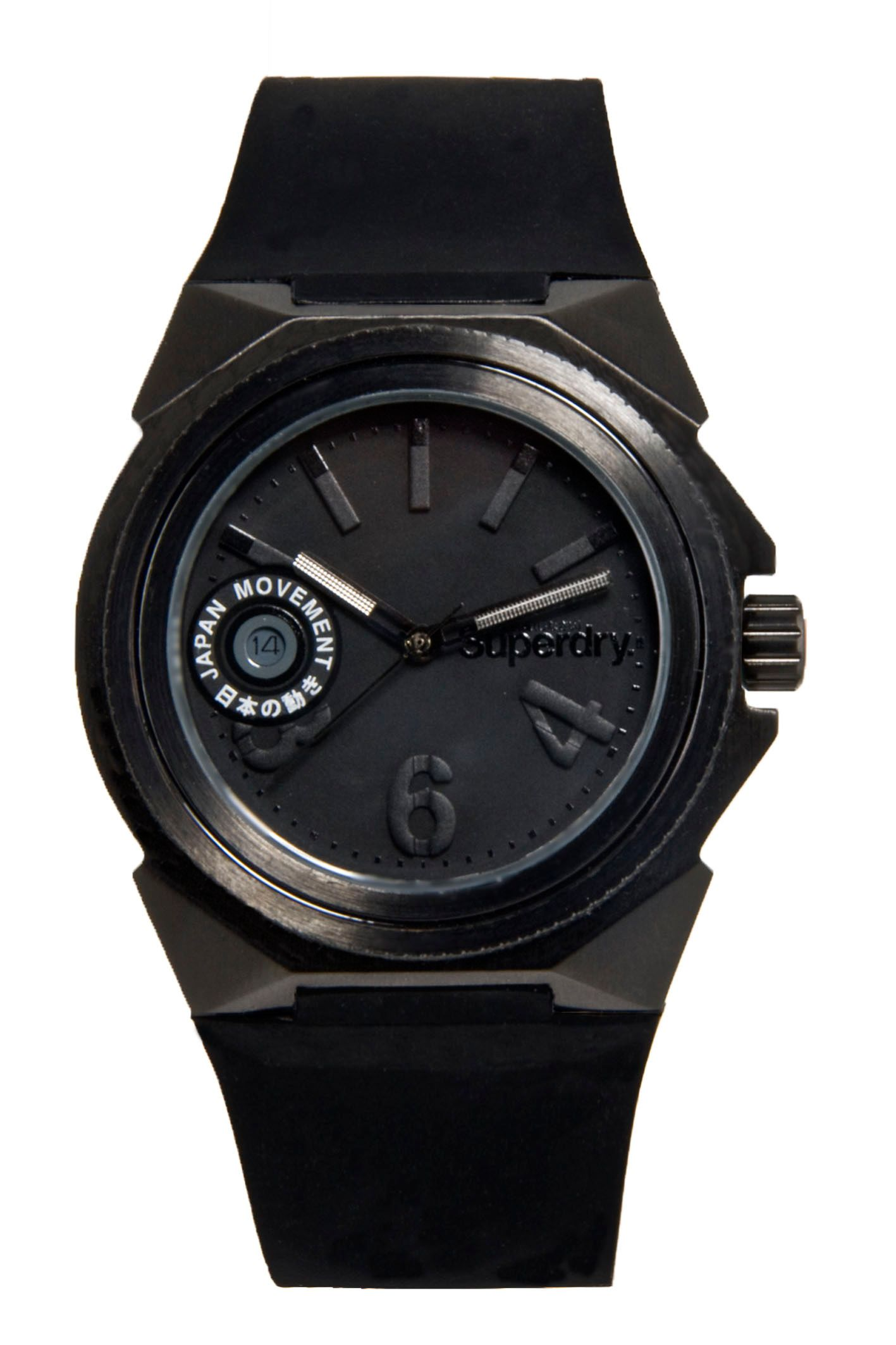 Superdry Black stealth ladies watch product image