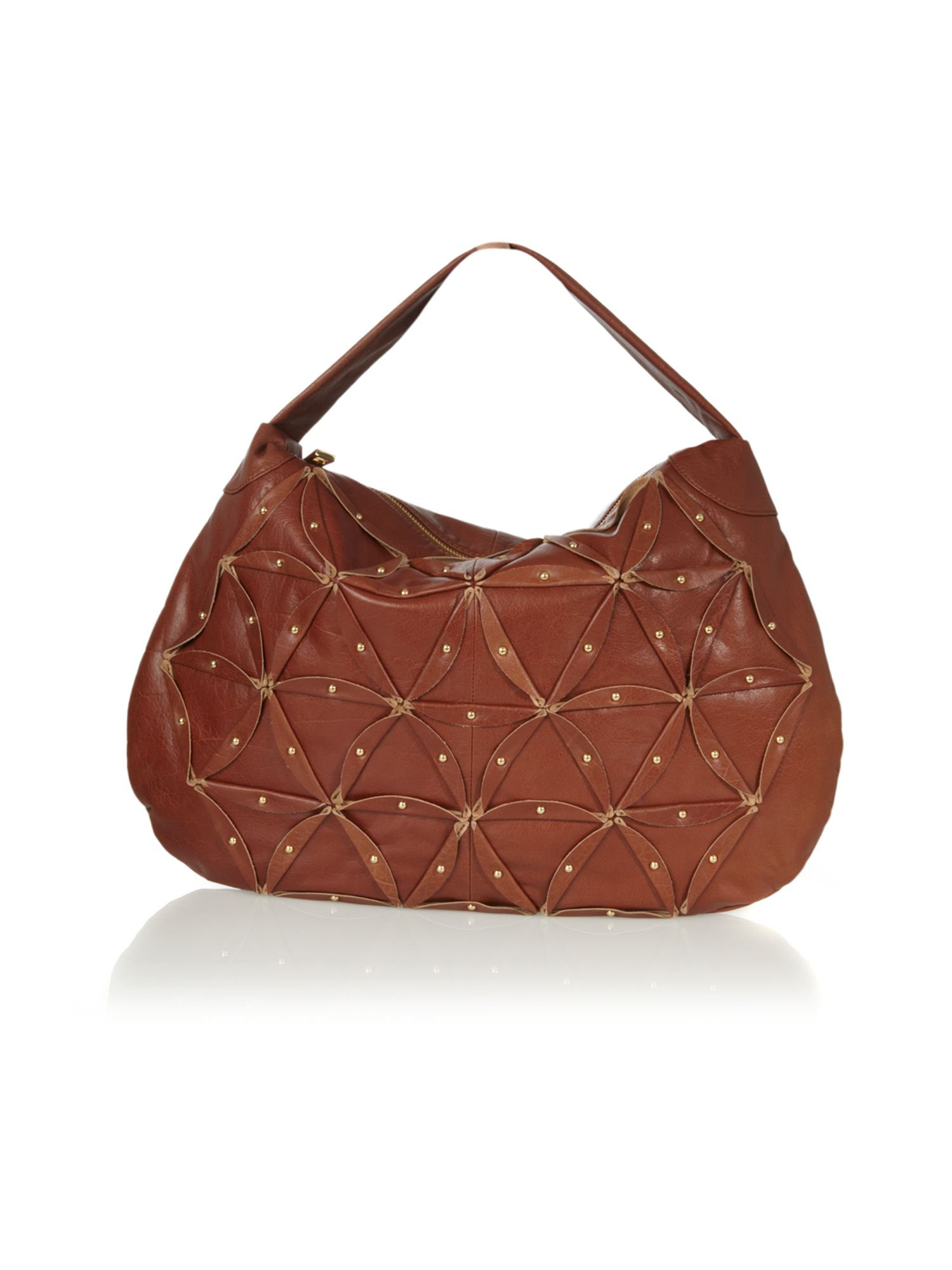 Pied a Terre Studded patch large hobo bag product image