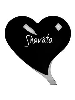 Shavata Black Heart Tweezer