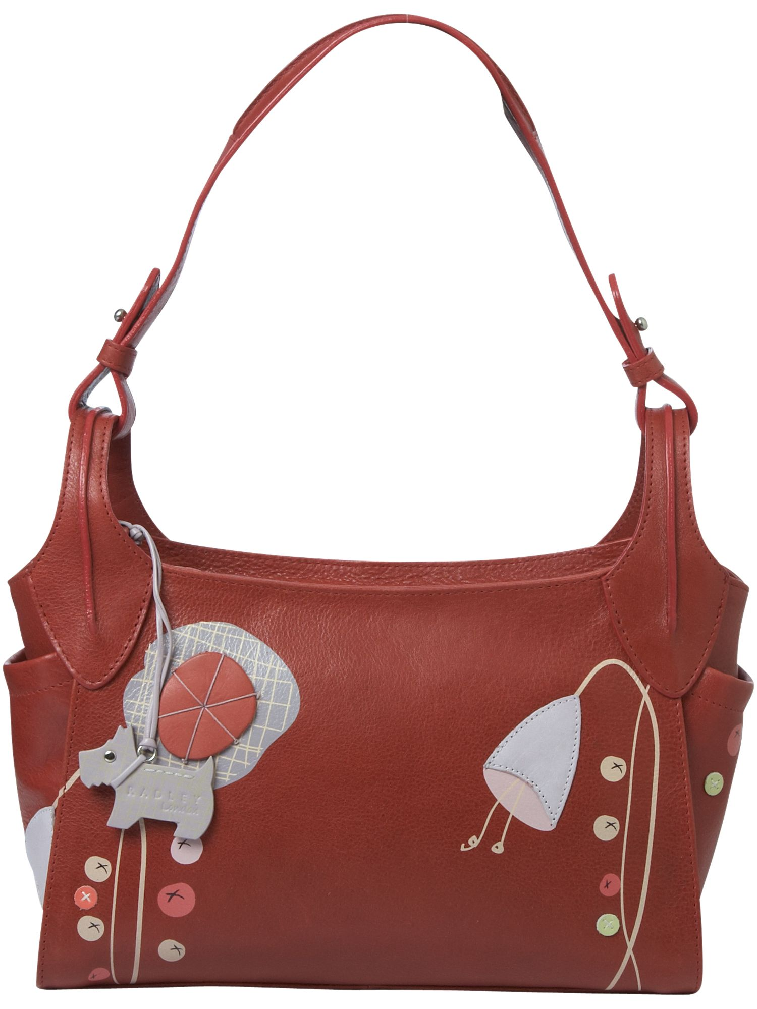 Vanessa Small Shoulder Hobo Bag
