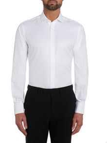 TM Lewin Herringbone slim fit shirt