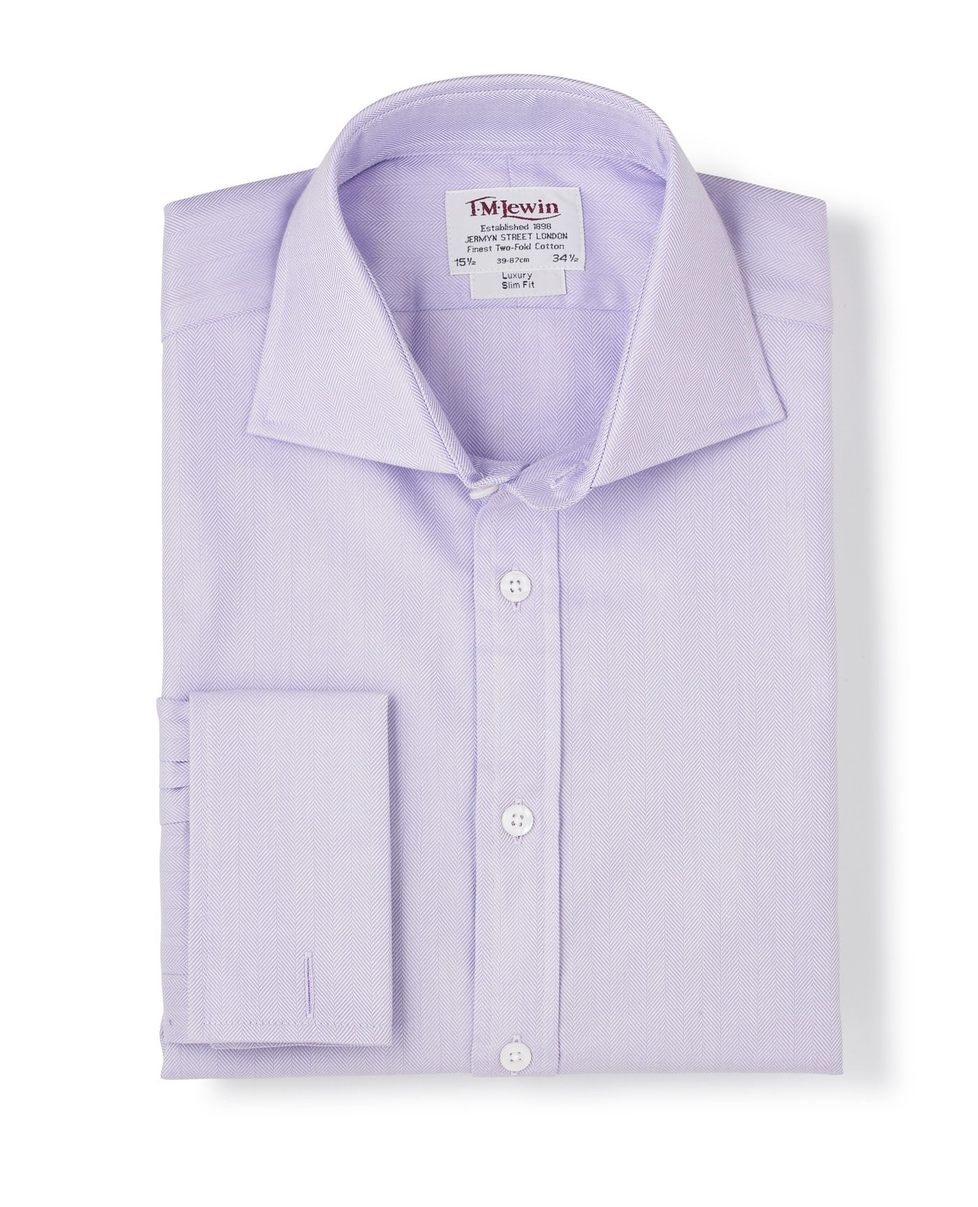 Luxury lilac shirt