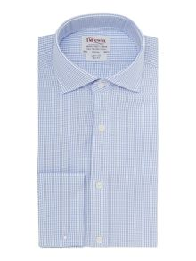 Check slim fit shirt