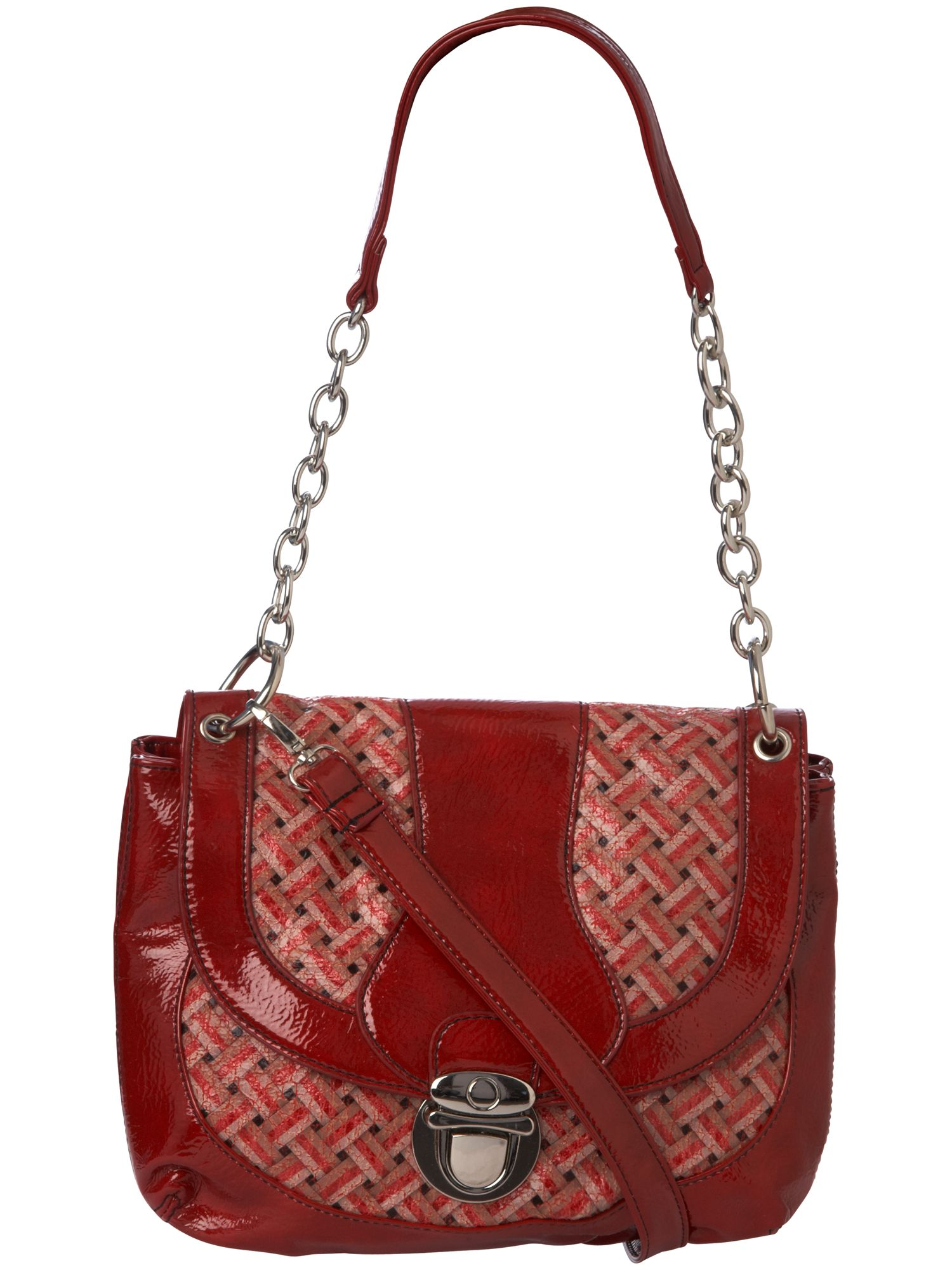 Max C Woven Fabric Ladylike flap over bag product image