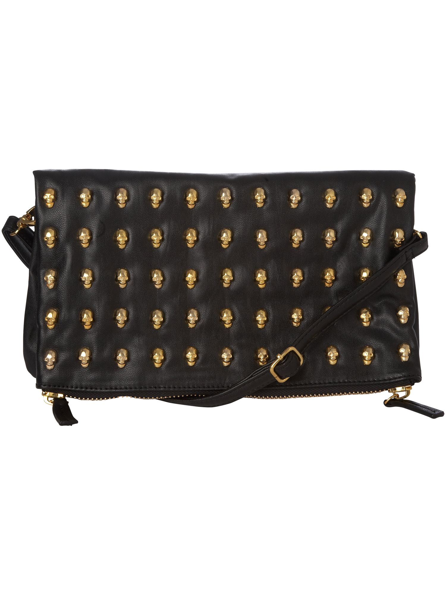 Max C Skull stud clutch bag product image