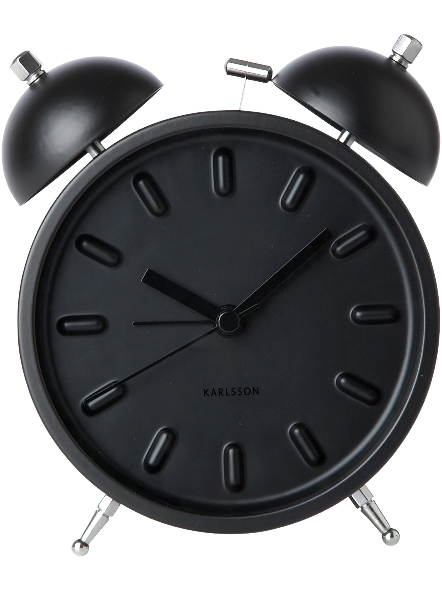 Nude alarm clock, black