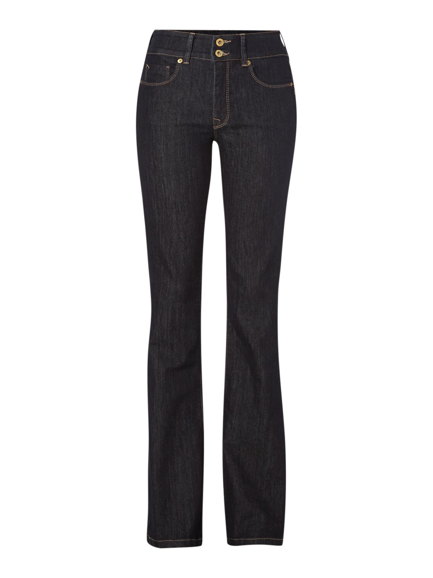 Secret Push-In bootcut jeans in Rinse