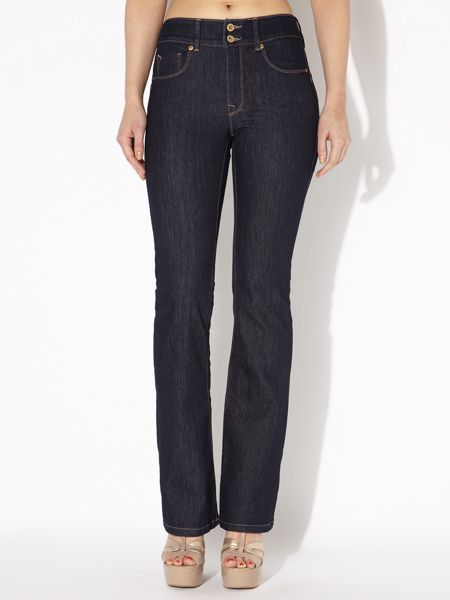 Salsa Secret Push-In bootcut jeans in Rinse