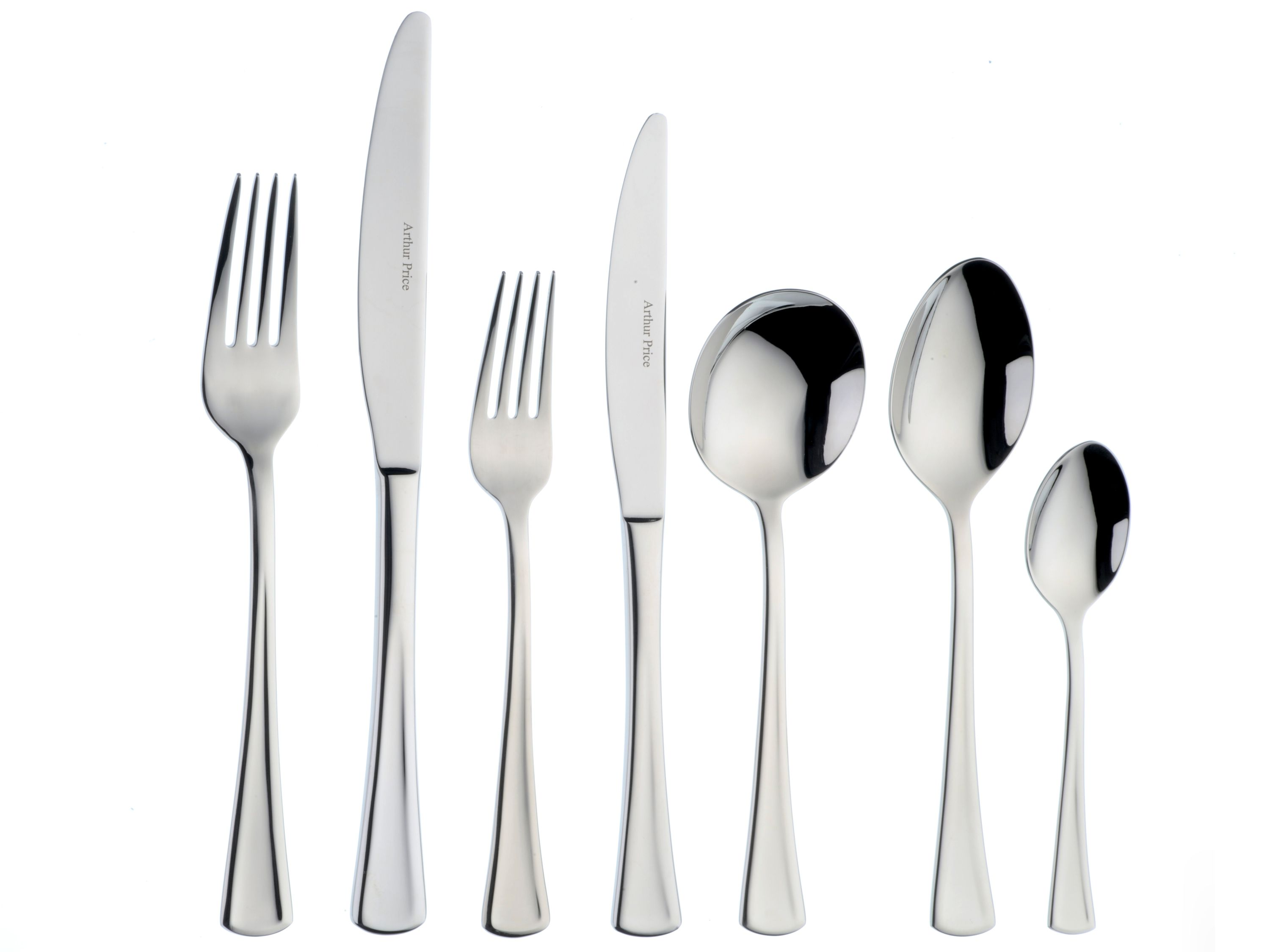 Apollo stainless steel 7 pce place setting