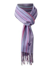 Lyle and Scott Striped cashmere scarf