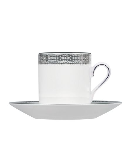 Wedgwood Lace platinum bond coffee/espresso cup