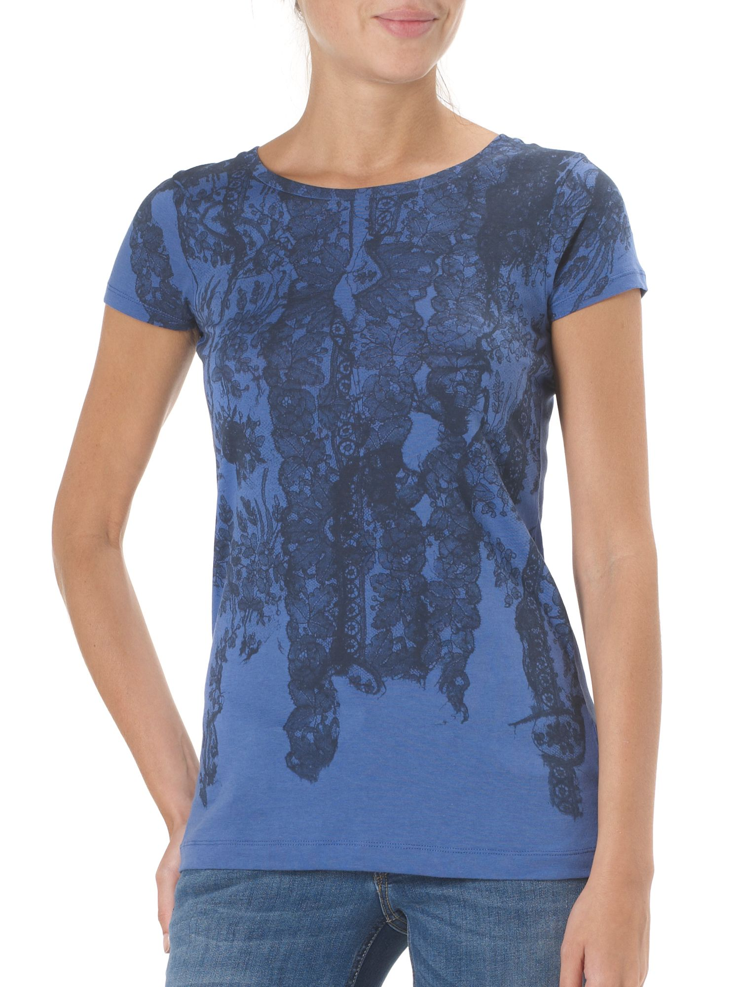 Lee Womens Lee Lee lacey t-shirt, Blue 140504087 product image