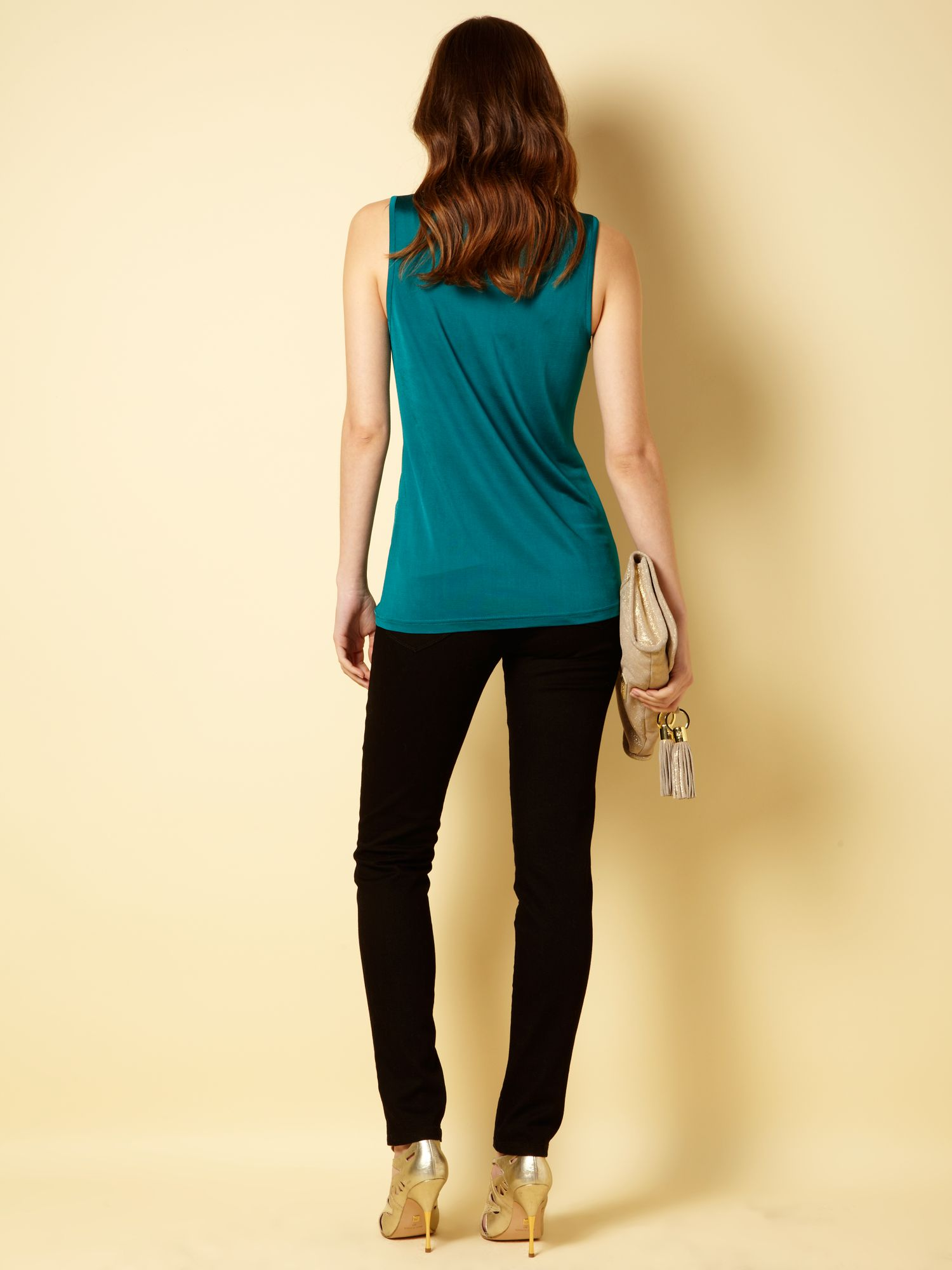 Grace slim skinny black jeans