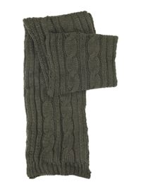 Howick Chunky cable scarf