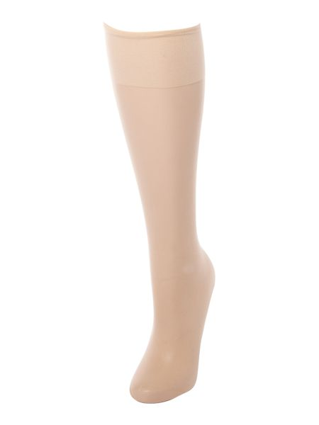 Linea Matt 10 den 2pp knee highs