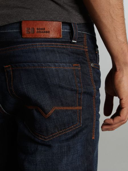 Hugo Boss `Orange 31` Dark Wash Jeans