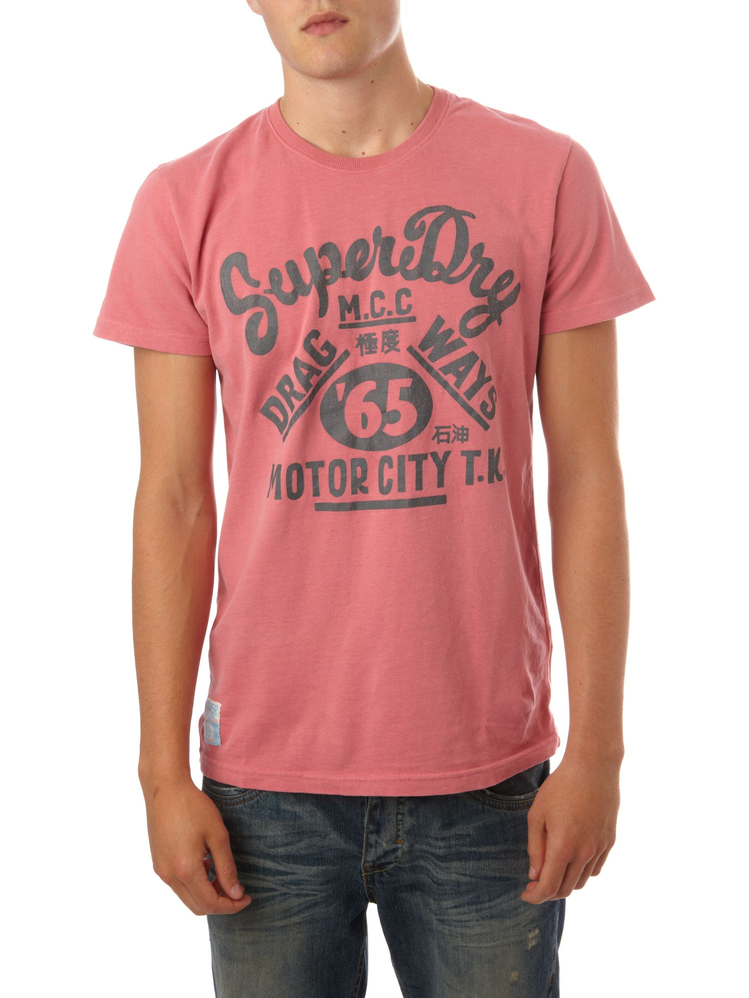 Superdry tin tab motor city t shirt review compare for T shirt company reviews