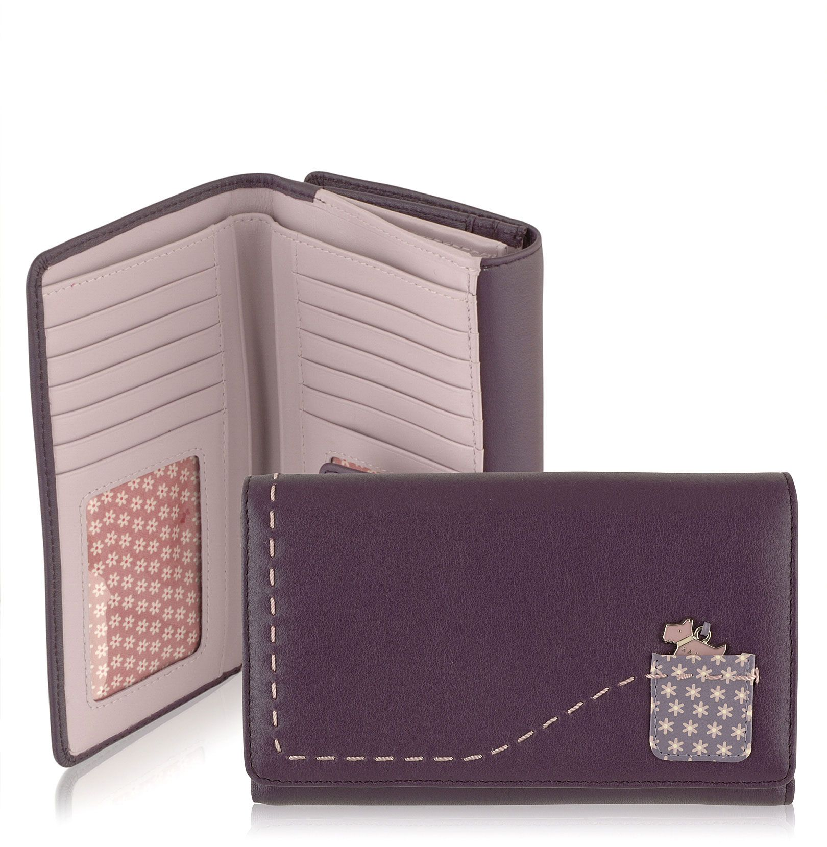 Radley Daisy large leather flapover tab wallet product image