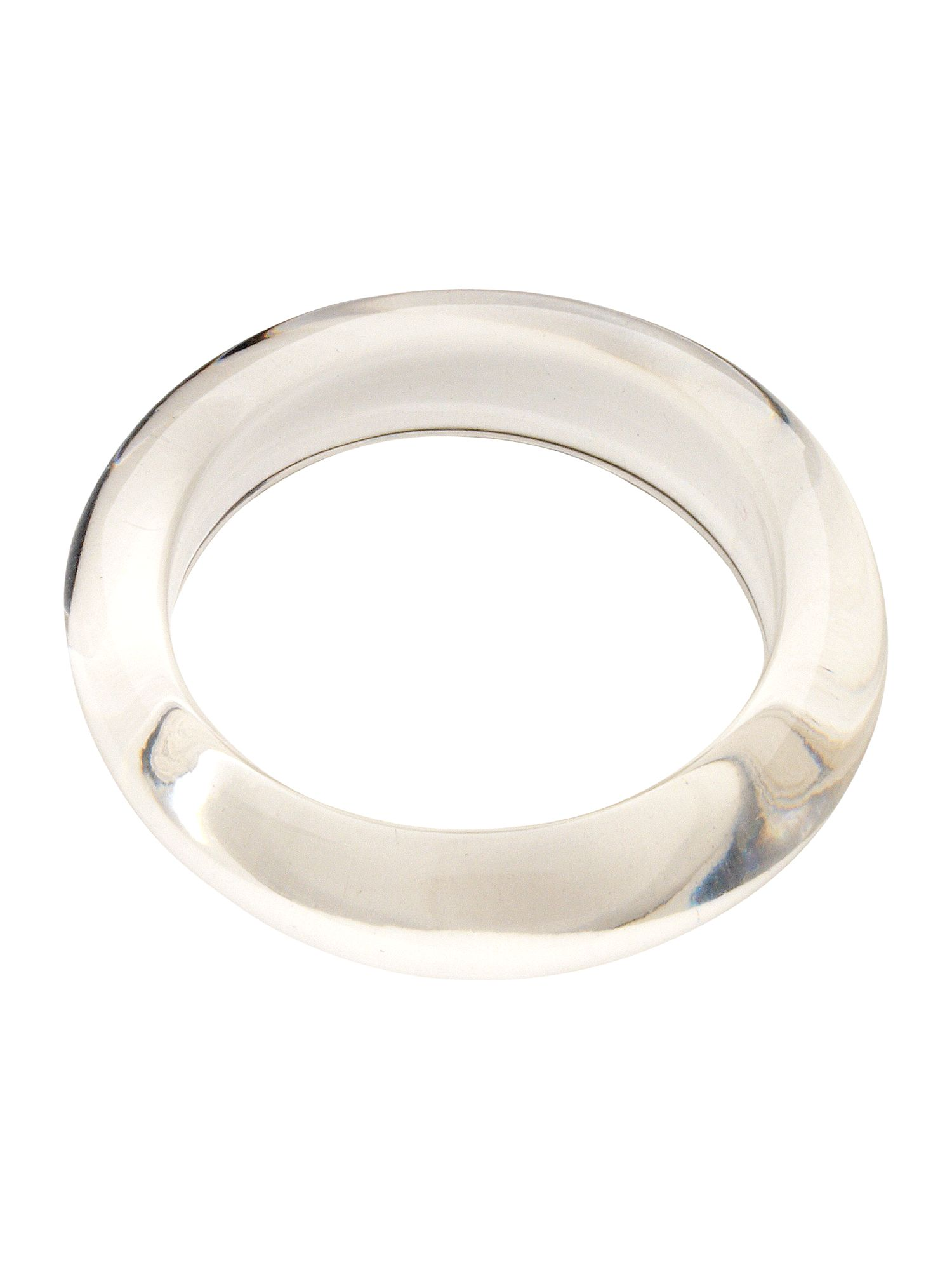 Clear thin bangle