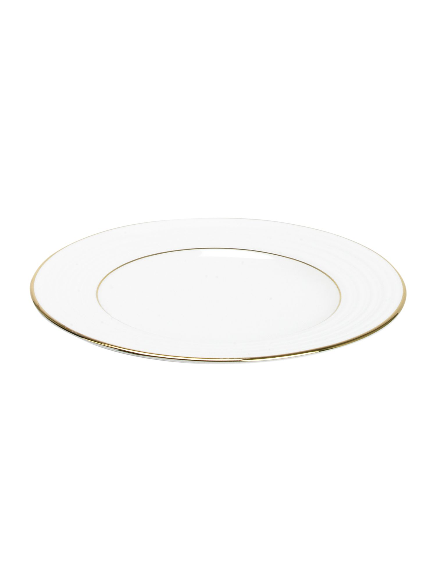 Soho gold bone china salad plate