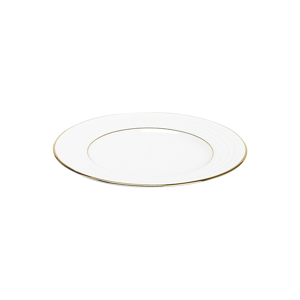 Linea Soho gold bone china salad plate