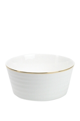 Linea Soho gold bone china cereal bowl