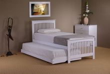 Linea Delano guest bed in white