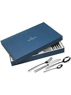 Piemont stainless steel cutlery set