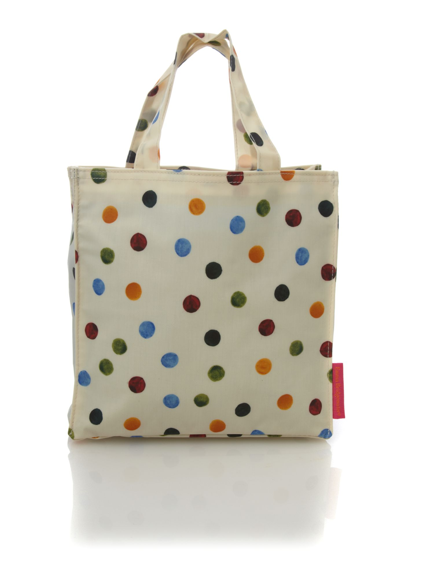 Polka dot small n/s tote