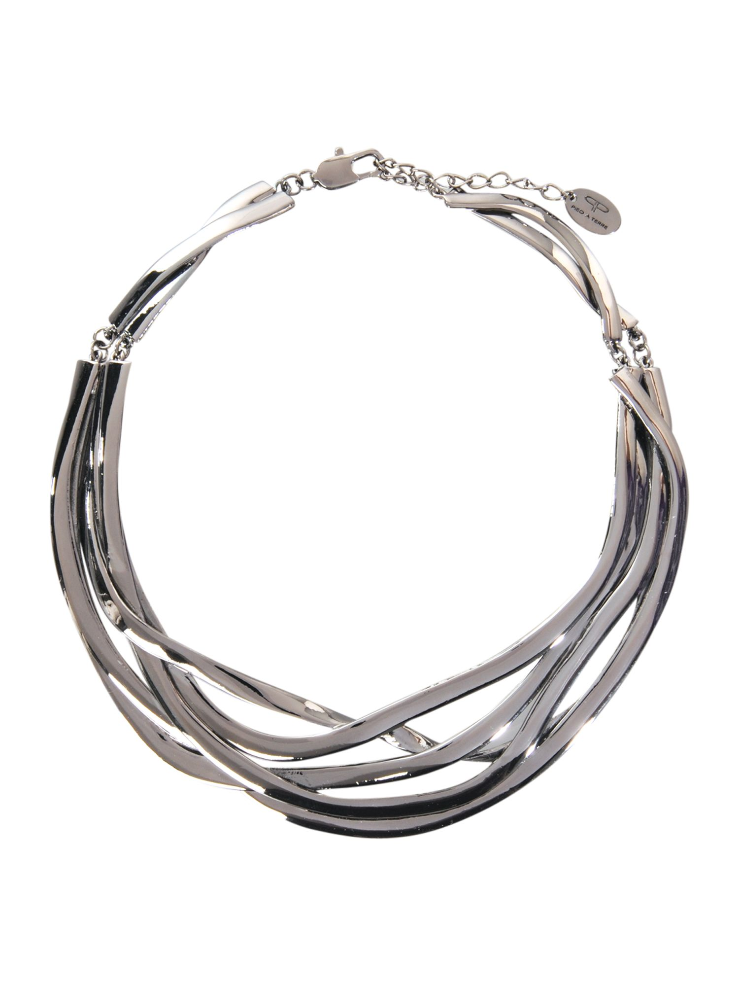 Pied a Terre Twisted silver collar product image